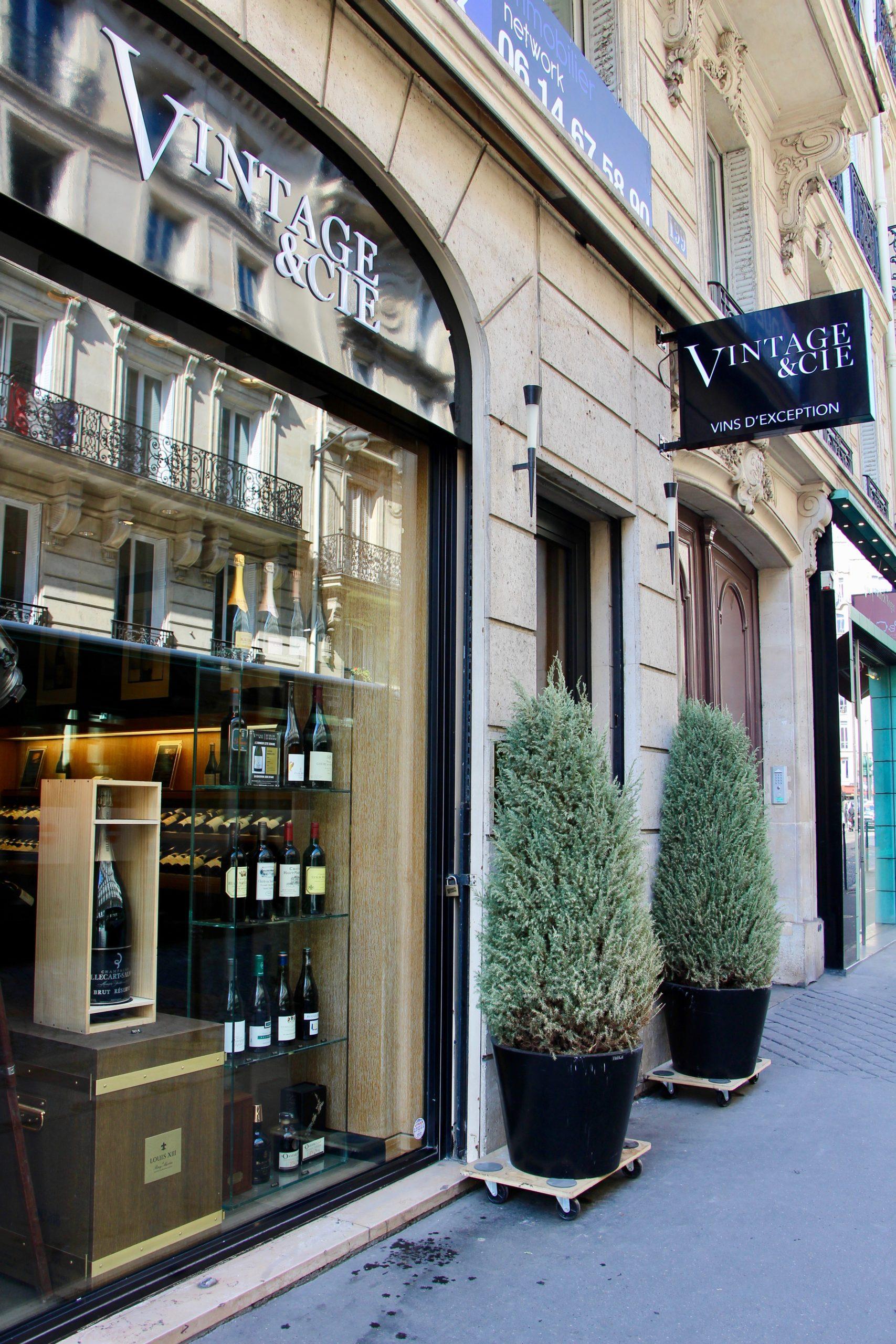 Vintage & Cie, Vins d'Exception – Paris 8 ème