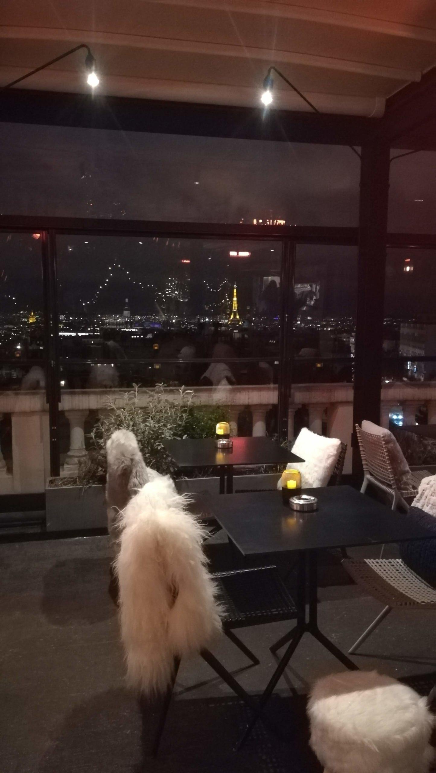 Le Rooftop du Terrass Hôtel à Montmartre – Paris 18 ème