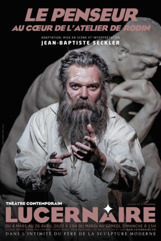 """Dîner théâtre: """"Le Penseur"""" – Théâtre le Lucernaire"""