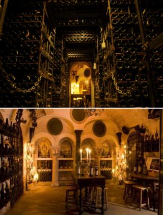29 octobre 2020, dîner et visite des caves de la Tour d'Argent