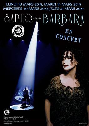 Mardi 19 mars : Dîner concert