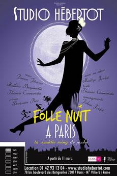 Au théâtre, Folle Nuit à Paris