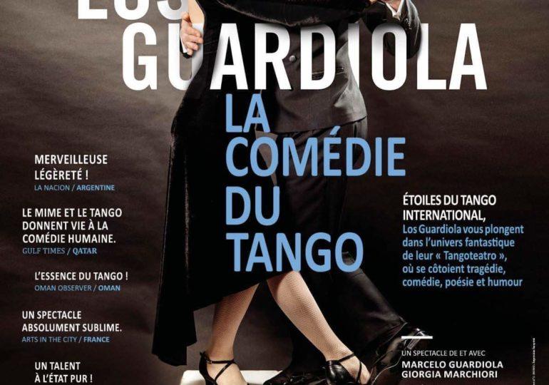 Jeudi 17 décembre avec les étoiles du tango international